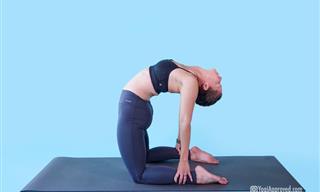 5 תרגילי יוגה לשיפור היציבה