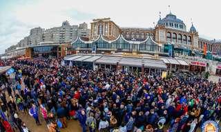 פסטיבל טבילת דוב הקוטב בהולנד