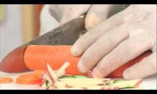 חיתוך נכון ובטוח עם סכין שף