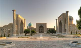 12 אתרים מרתקים ומרהיבים באוזבקיסטן