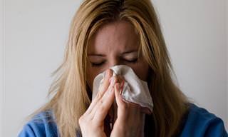 8 נקודות לחיצה לטיפול בתסמיני השפעת