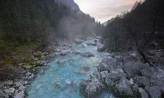 נהר הסוצ'ה - הנהר היפה ביותר באירופה