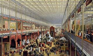 הגלויות הנפלאות של היריד העולמי הראשון משנת 1851
