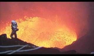 צילום הר הגעש הכי טוב בעולם