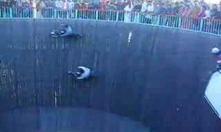 קיר המוות - פעלול אקסטרים משוגע!