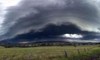 תמונות יפהפיות של ענני סופות