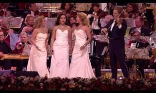 הללויה: ביצוע בלתי נשכח לשיר האהוב של המנצח הנפלא אנדרה ריו