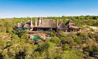 כפר נופש יוקרתי באפריקה
