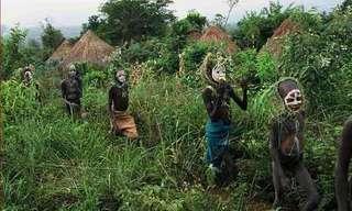השבטים הצבעוניים - שבטי אומו באתיופיה