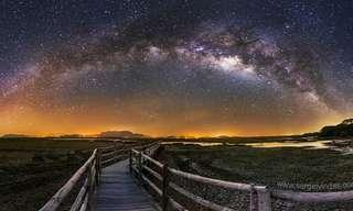 תמונות מדהימות של שמיים זרועי כוכבים מרחבי העולם
