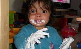 18 תמונות של ילדים קטנים שעשו בלגן גדול מהחיים