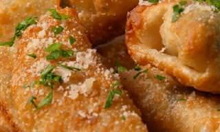 מתכון לספרינג רול ממולאים בארטישוק, תרד וגבינות