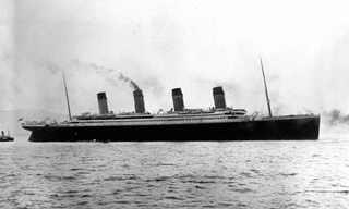 100 שנים לאסון הטיטניק - תיעוד נדיר
