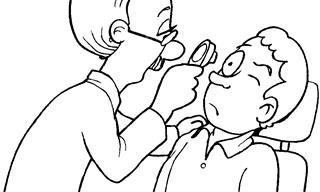 דפי צביעה לילדים על בריאות והיגיינה