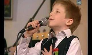 לדניאל הקטן יש קול נהדר, ולא תאמינו איזה שיר הוא בחר לבצע...