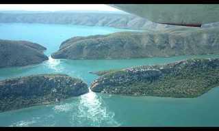 המפלים האופקיים במערב אוסטרליה