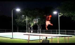 תחרות קליעות - פריסבי נגד כדורסל