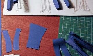 הופעה חיה מנייר - עבודת אוריגמי מדהימה
