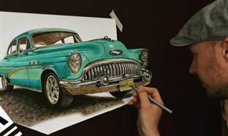 18 ציורי תלת ממד מדהימים ומציאותיים למדי!