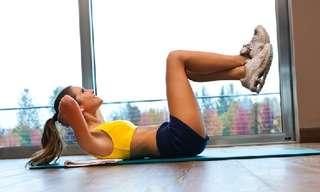 6 תרגילים פשוטים לחיטוב הבטן