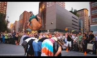 מופע רחוב מטורף בניו יורק!