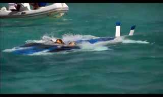 הצעצוע החדש של ריצ'רד ברנסון: מטוס תת ימי!