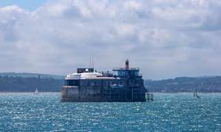 מבצר ימי שהפך למלון יוקרה