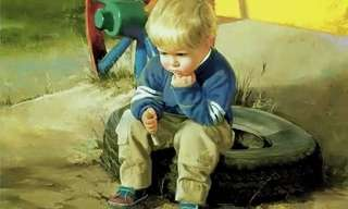 ציורי הילדים של דונלד זולאן - מקסים!