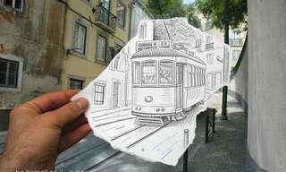 עיפרון לעומת מצלמה - פרויקט יצירתי