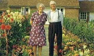 תיעוד מרגש של זוג מבוגרים