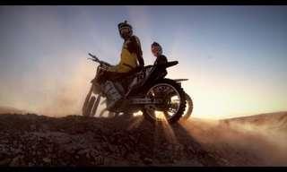 פעלולי אופנועים מטריפים במדבר