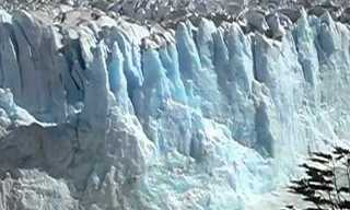 קרחון פריטו מורנו - הקרחון המתנפץ