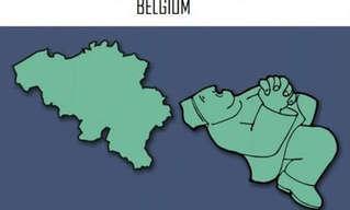 האדם שהפך את מפת אירופה לסדרת איורים