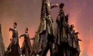 אמנות הריקוד הגיאורגי - מדהים!!