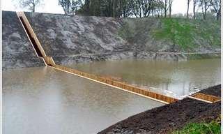 הגשר שמתחת לפני המים - עיצוב ייחודי!