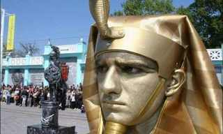 תחרות הפסלים האנושיים - מדהים!