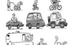 גלגלי החיים - מצחיק
