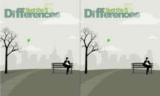 מצאו את ההבדלים - משחק חשיבה ממכר!