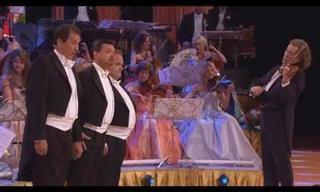אנדרה ריו האגדי בביצוע קסום ליצירת האופרה השמש שלי