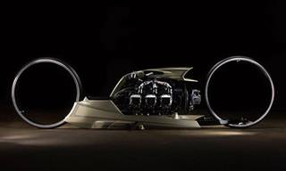 TMC Dumont – האופנוע עם העיצוב המשוגע ביותר בעולם