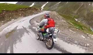 הרפתקאה מדהימה על אופנוע שטח