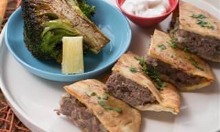 אוסף מתכוני מנות בשריות מהמטבח הלבנוני