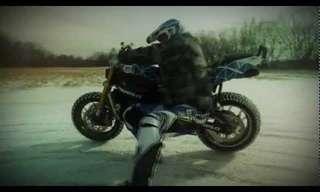 אופנוע שלג בהרכבה עצמית...