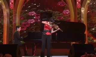 מופע כינור נפלא ומרגש של אמנית מדרום קוריאה