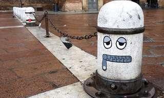 אומנות רחוב מקסימה וחכמה