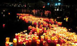פסטיבל אלפי הפנסים בוייטנאם
