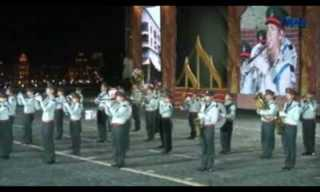 """תזמורת צה""""ל בכיכר האדומה ברוסיה - מרגש!!"""