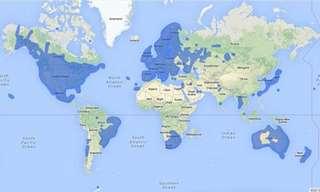 מפות שעושות סדר בכדור הארץ...