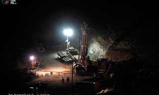 תמונות מפעולת חילוץ הכורים בצ'ילה