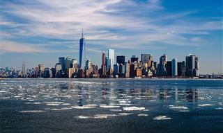 מפה אינטראקטיבית של העיר ניו יורק